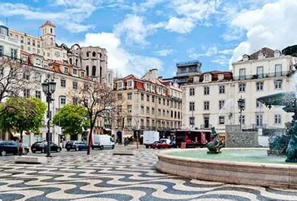 Alojarse en Lisboa en el barrio Baixa