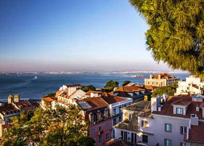 Dormir en el barrio Lapa en Lisboa