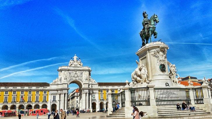 La Baixa, El barrio más céntrico de Lisboa
