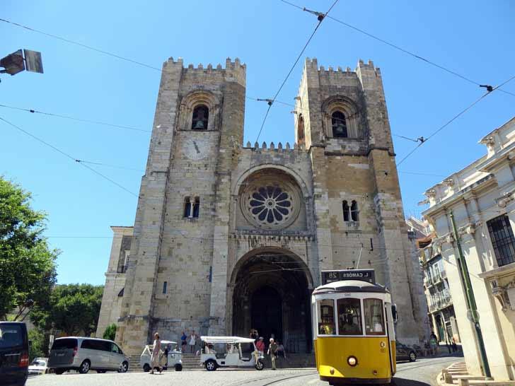 catedral de Lisboa e iglesia más antigua de la ciudad