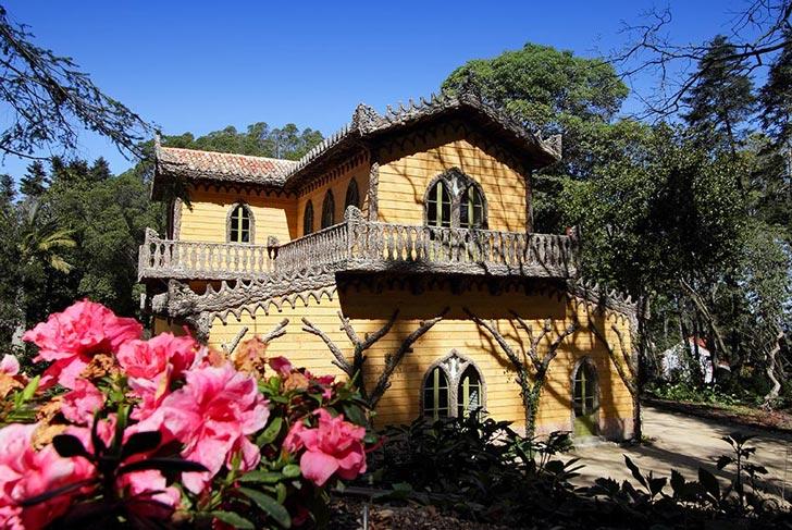 Chalet y el jardín de la Condesa