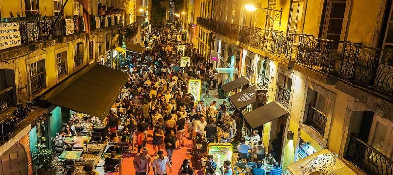 Disfruta Lisboa, Vida Nocturna
