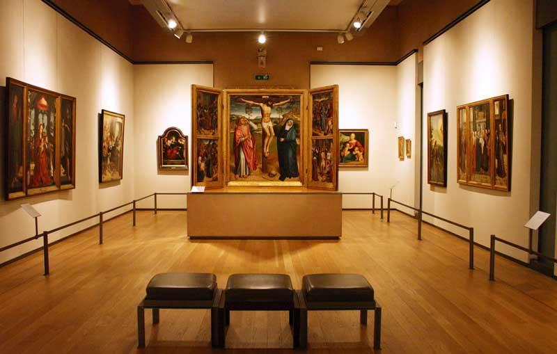 Interior Museo Nacional de Arte Antiguo