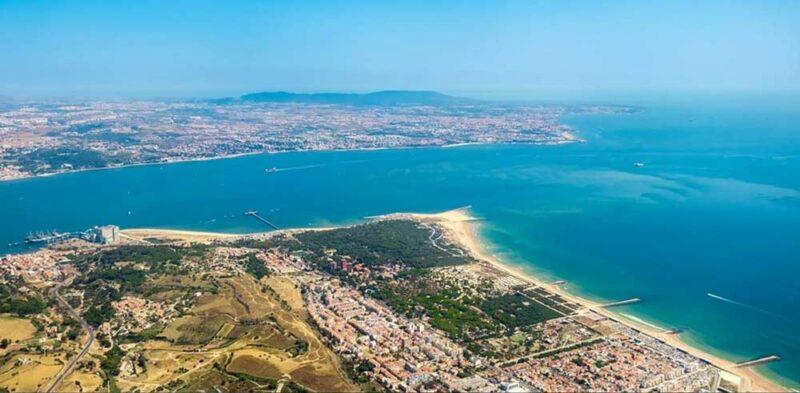 Costa da Caparica la Playa de Lisboa