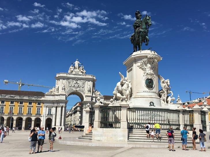 Plaza del Comercio (Praça do Comércio)