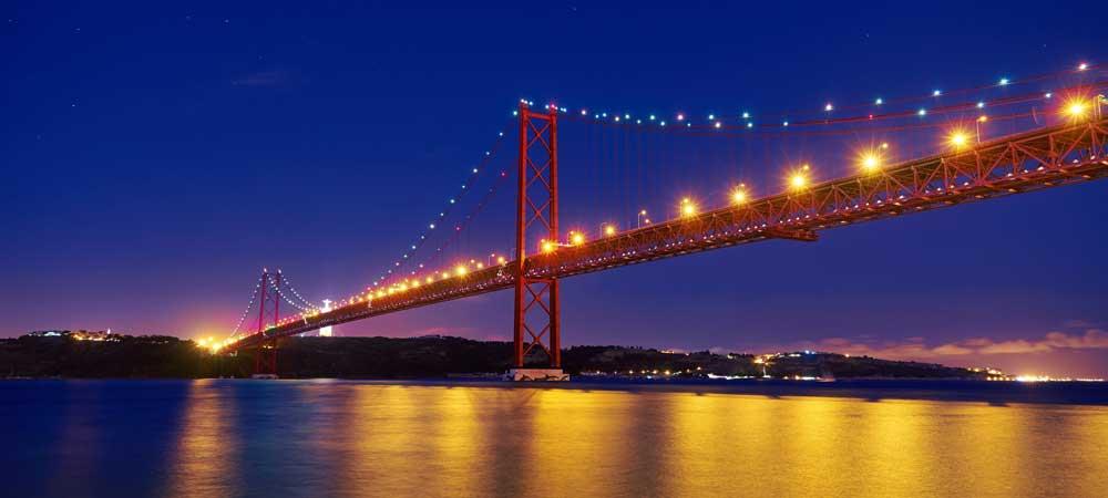 Puente 25 De Abril Lisboa El Puente Colgante Más Largo De Europa